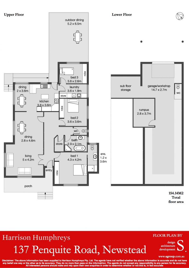 137 Penquite Road Floorplan