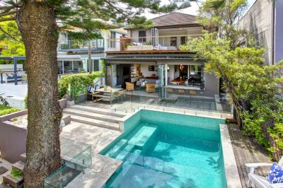 Bronte Haven. Quintessential Beachside/Parkside Living in Striking Designer Family Home with Pool + Stunning Views To Beach And Ocean