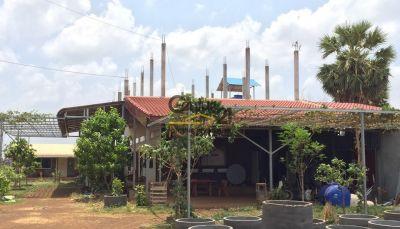 Sralau, Kampong Thom | Warehouse for rent in Baray Sralau img 3