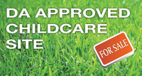 New DA Approved Childcare Site for Sale - Hurstville, Southern Sydney NSW