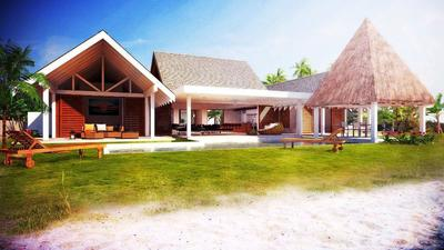 BEACHFRONT HOUSE AND LAND PACKAGE