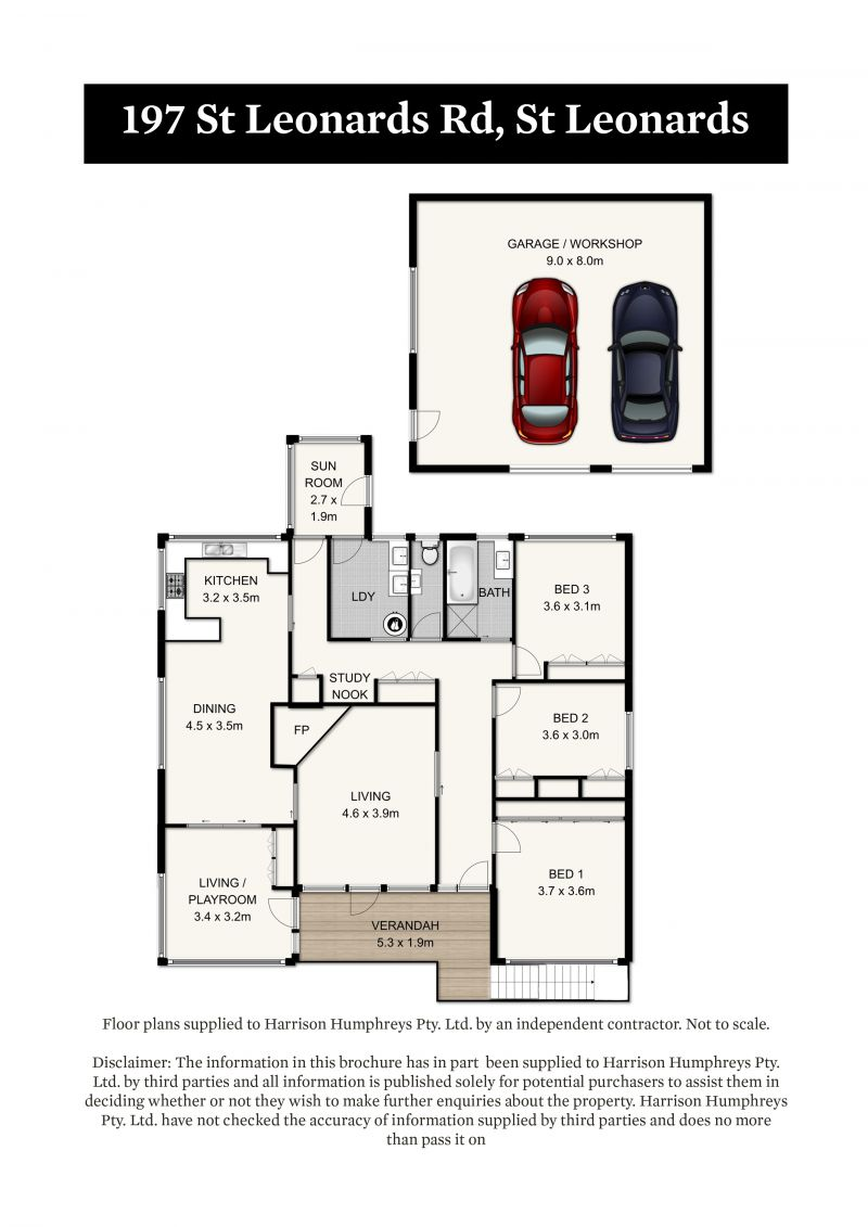 197 St Leonards Road Floorplan
