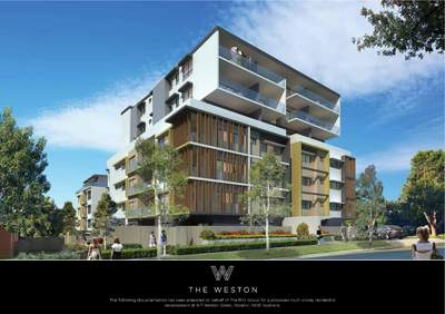 THE WESTON Apartments Rosehill NOW AVAILABLE