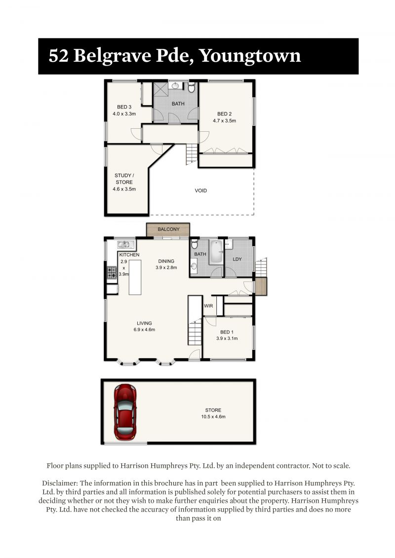 52 Belgrave Parade Floorplan