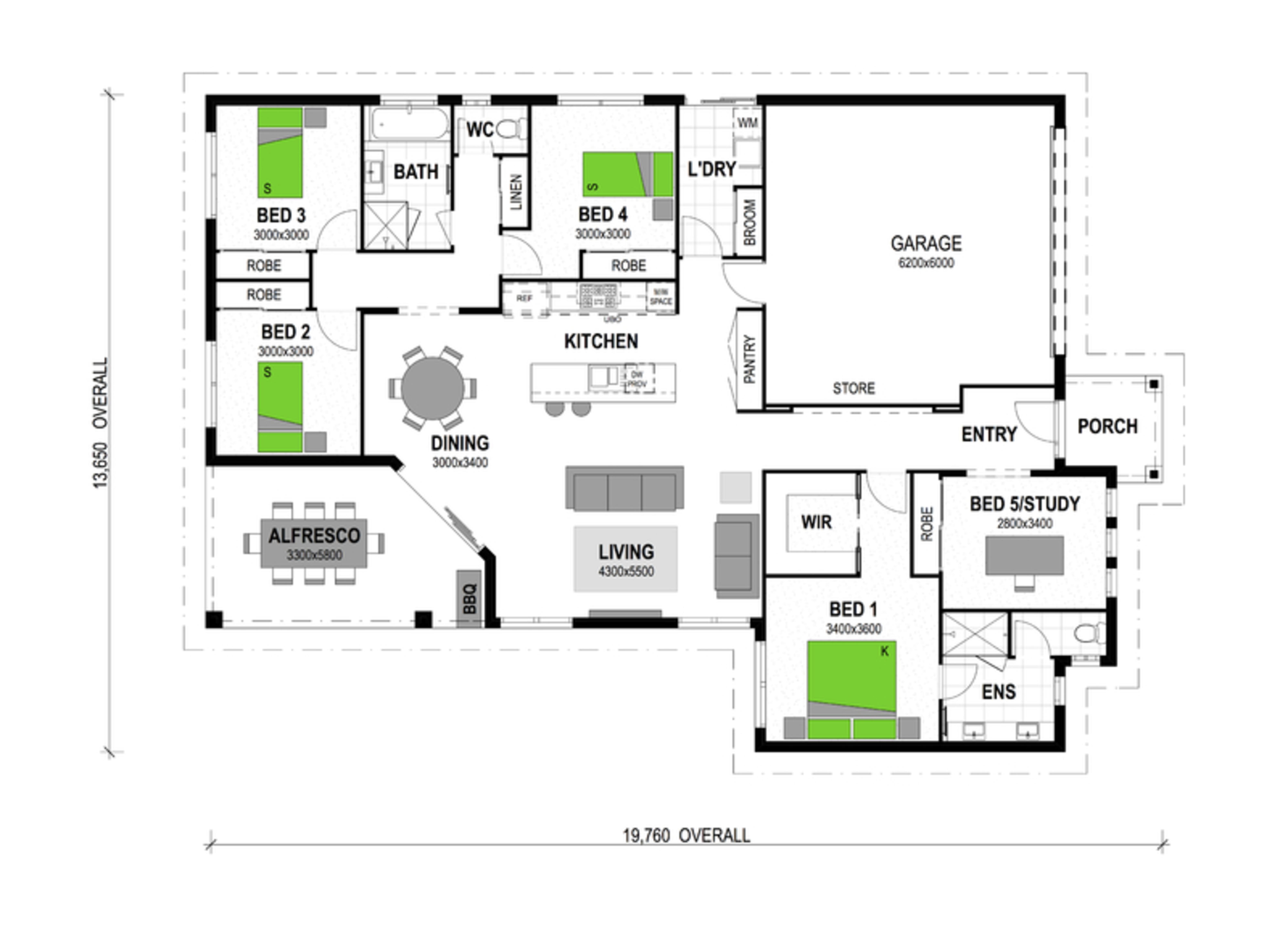 LOT 127 'PLAINLAND CROSSING ESTATE' PLAINLAND Floorplan