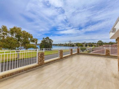 Prized waterfront lifestyle with sparkling bay views