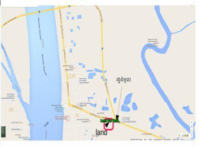 Neak Loeang, Prey Veng | Land for sale in Peam Ro Neak Loeang img 1