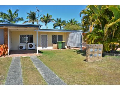 Air conditioned 2 bedroom unit