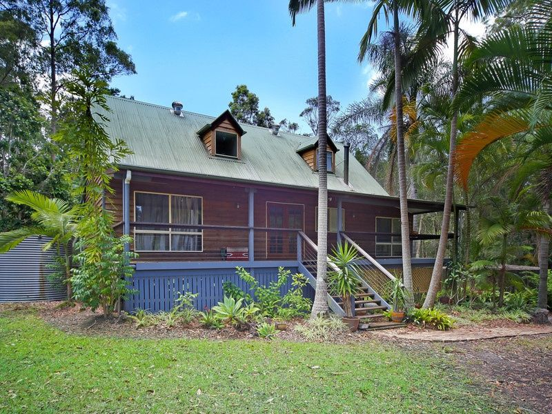 Timber Home and Gum Trees