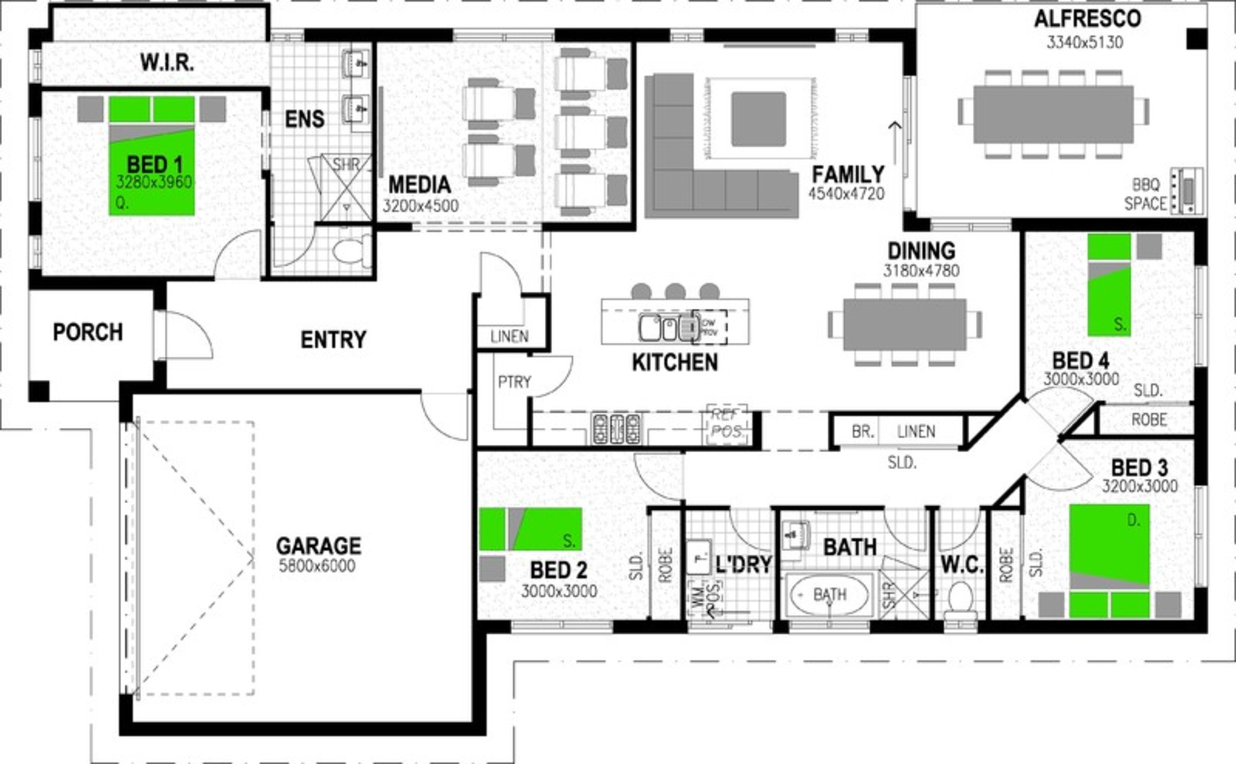 *ADDRESS AVAILABLE ON REQUEST 'PROVIDENCE RIPLEY' SOUTH RIPLEY Floorplan