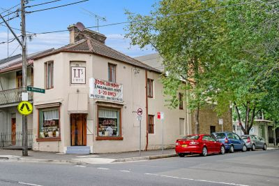 Cafe' and Apartment for Sale