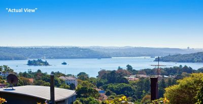 Substantial Family Home Offers Ideal Northerly Aspect, 2 Street Frontages & Sublime Harbour Views on Approx 675sqm land. Renovate/Redevelop