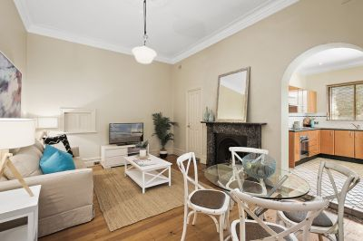 Over-sized apartment filled with Federation charm