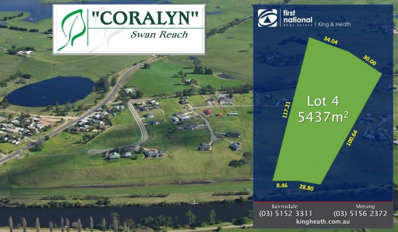 LOT 4 - CORALYN DRIVE - SWAN REACH