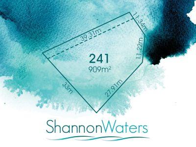 LOT 241, SHANNON BOULEVARD, SHANNON WATERS