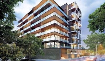 Brand New Meridian Apartment with Ensuite, Study and Sea Views