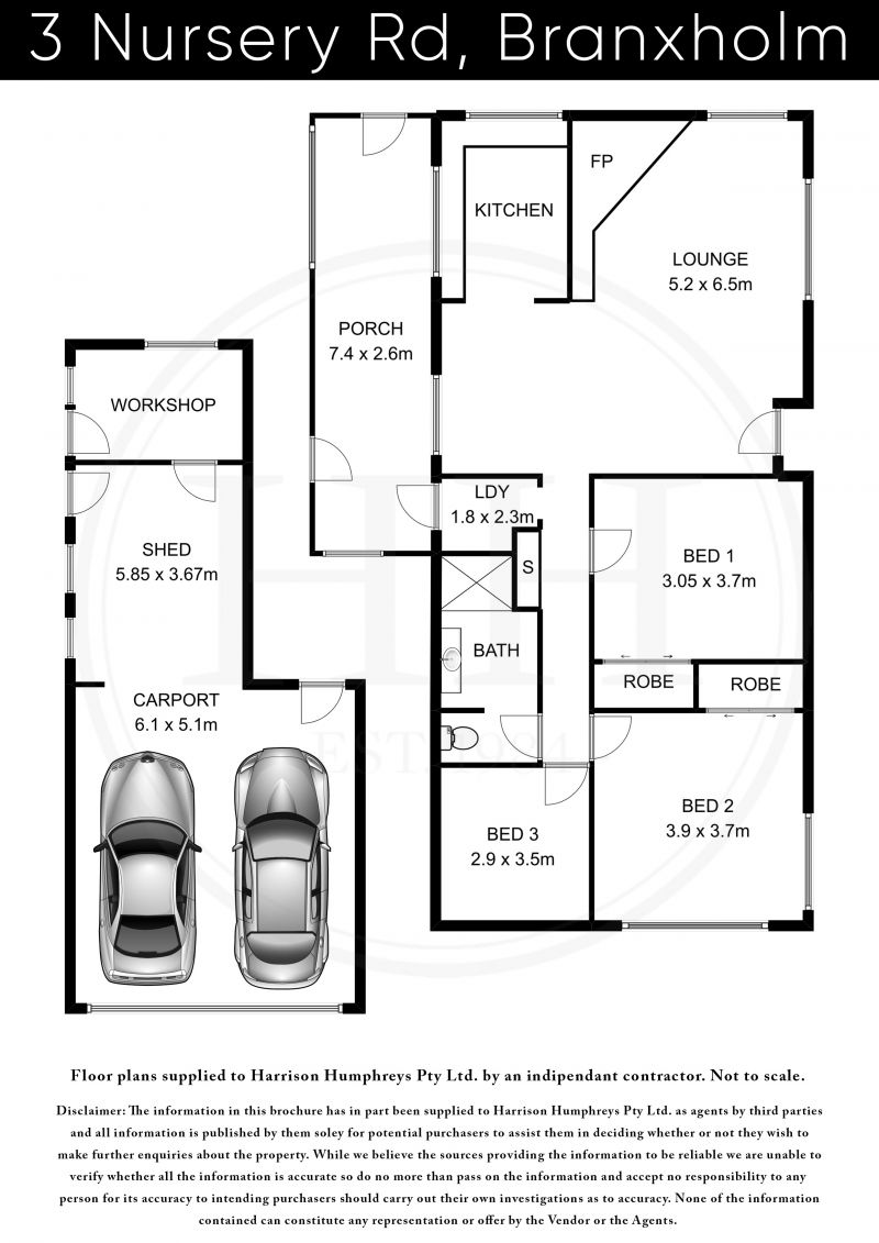 3 Nursery Road Floorplan