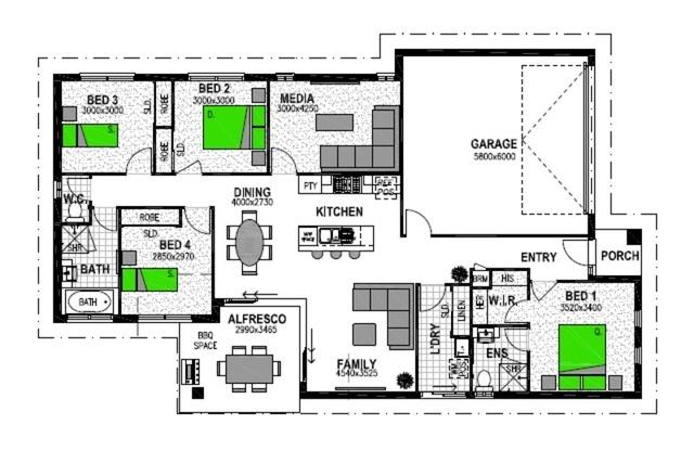 LOT 113 CLUB NORTH 9 NORTH LAKES Floorplan