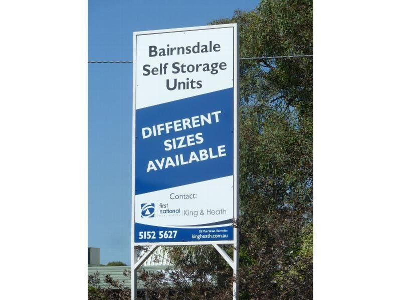 STORAGE UNITS FOR LEASE
