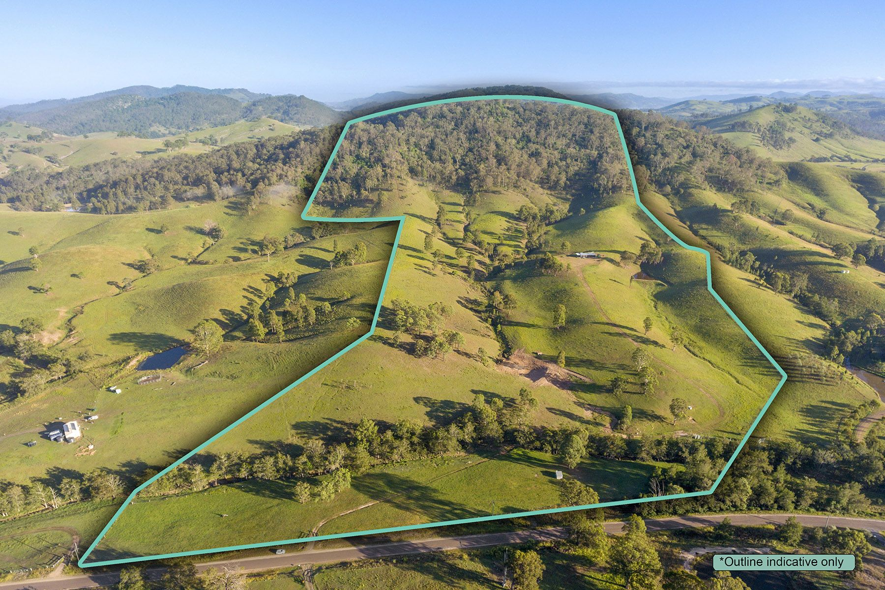 41.9 HA (103.5 Acres) – DOUBLE CREEK FRONTAGE