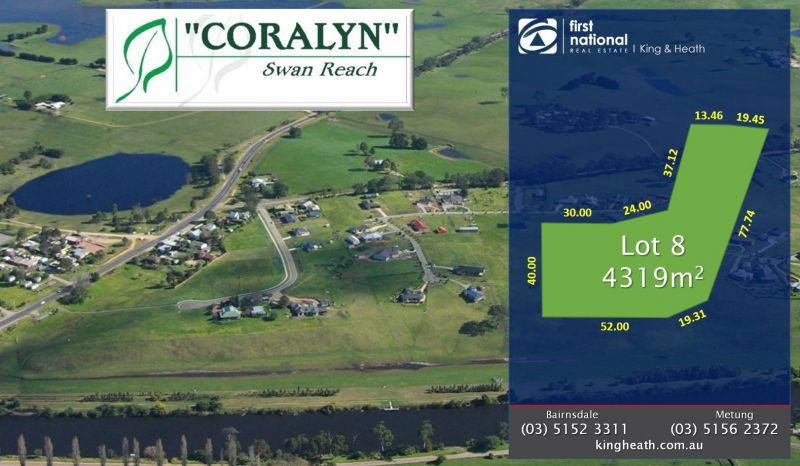 LOT 8, CORALYN DRIVE - SWAN REACH