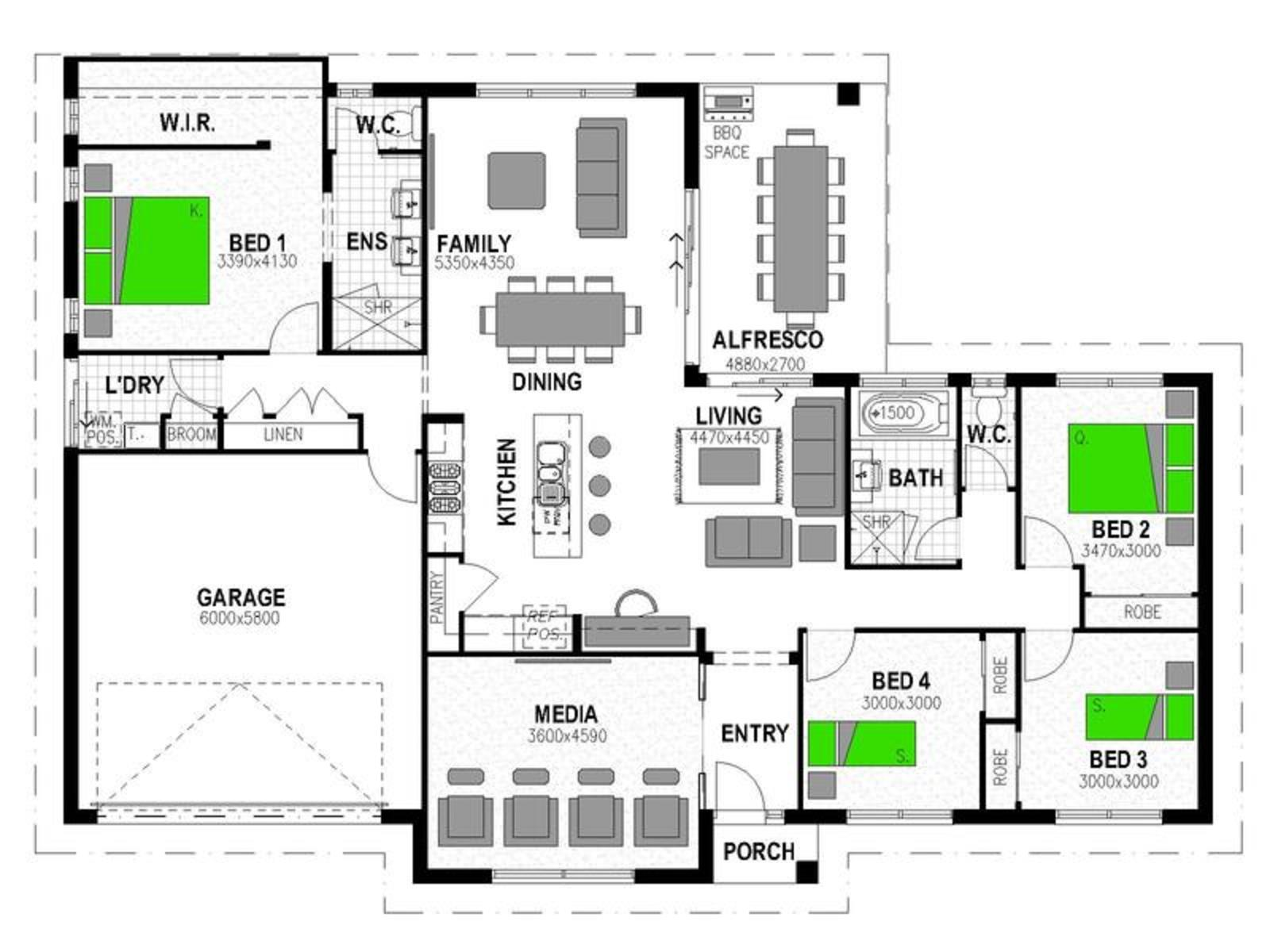 LOT 60 'FAIRWAYS ESTATE' HATTON VALE Floorplan