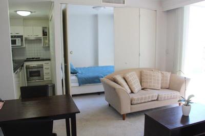 1 Bedroom Compact Furnished Unit - Pool, Spa, Sauna, Security.