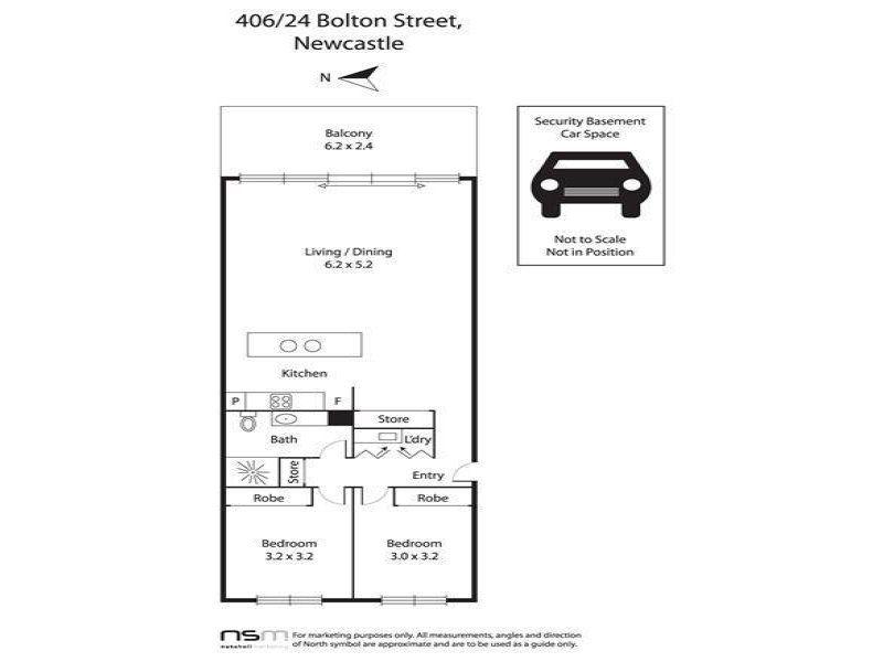 406/24 Bolton Street, NEWCASTLE