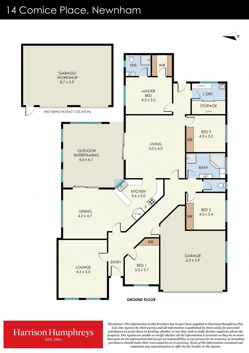 14 Comice Place Floorplan
