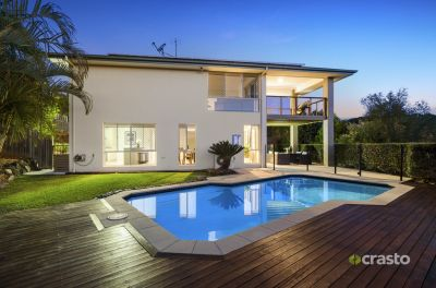Impressive home in sought after location with Hinterland Views