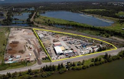 2.02 Ha heavy industrial Zoning with income and approval for 18 industrial units