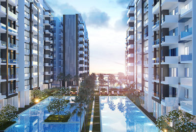 Axis  Residences, Teuk Thla, Phnom Penh   New Development for sale in Sen Sok Teuk Thla img 1