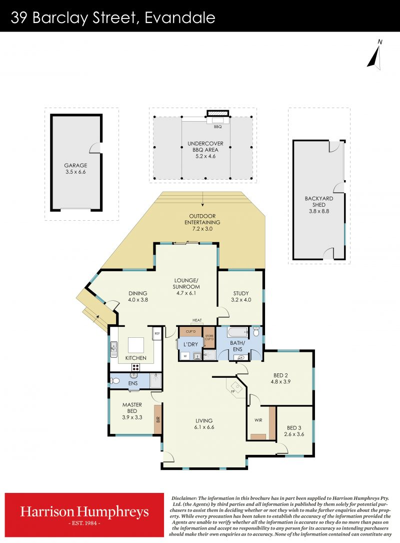39 Barclay Street Floorplan