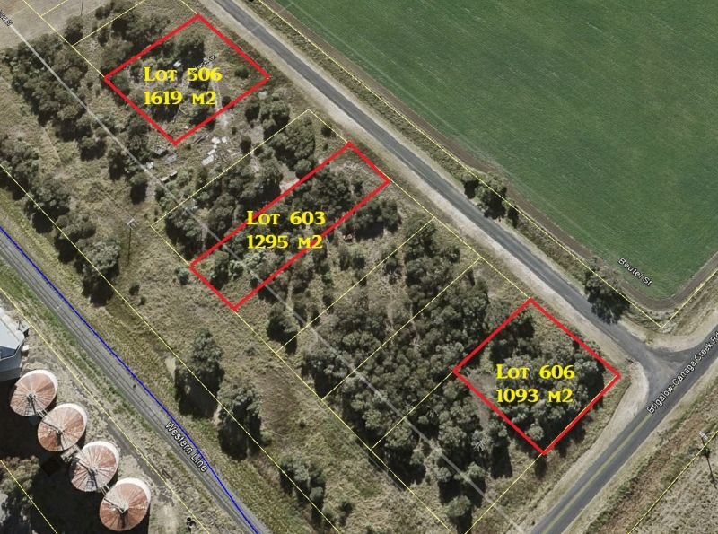 BRIGALOW LAND SALE - CHOICE OF TWO