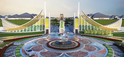 The Park  Land Sen Sok, Phnom Penh Thmey, Phnom Penh | Borey for sale in Sen Sok Phnom Penh Thmey img 0