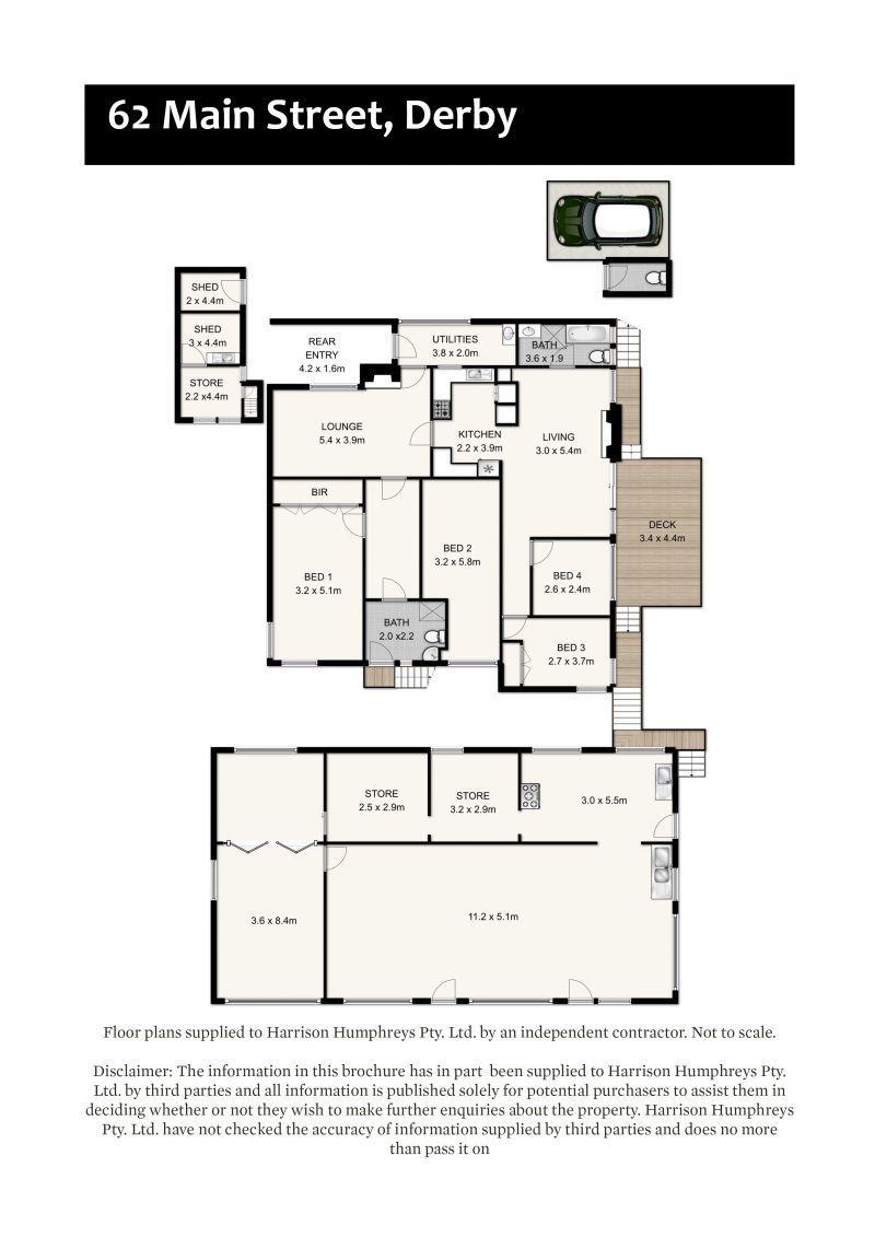62 Main Street Floorplan