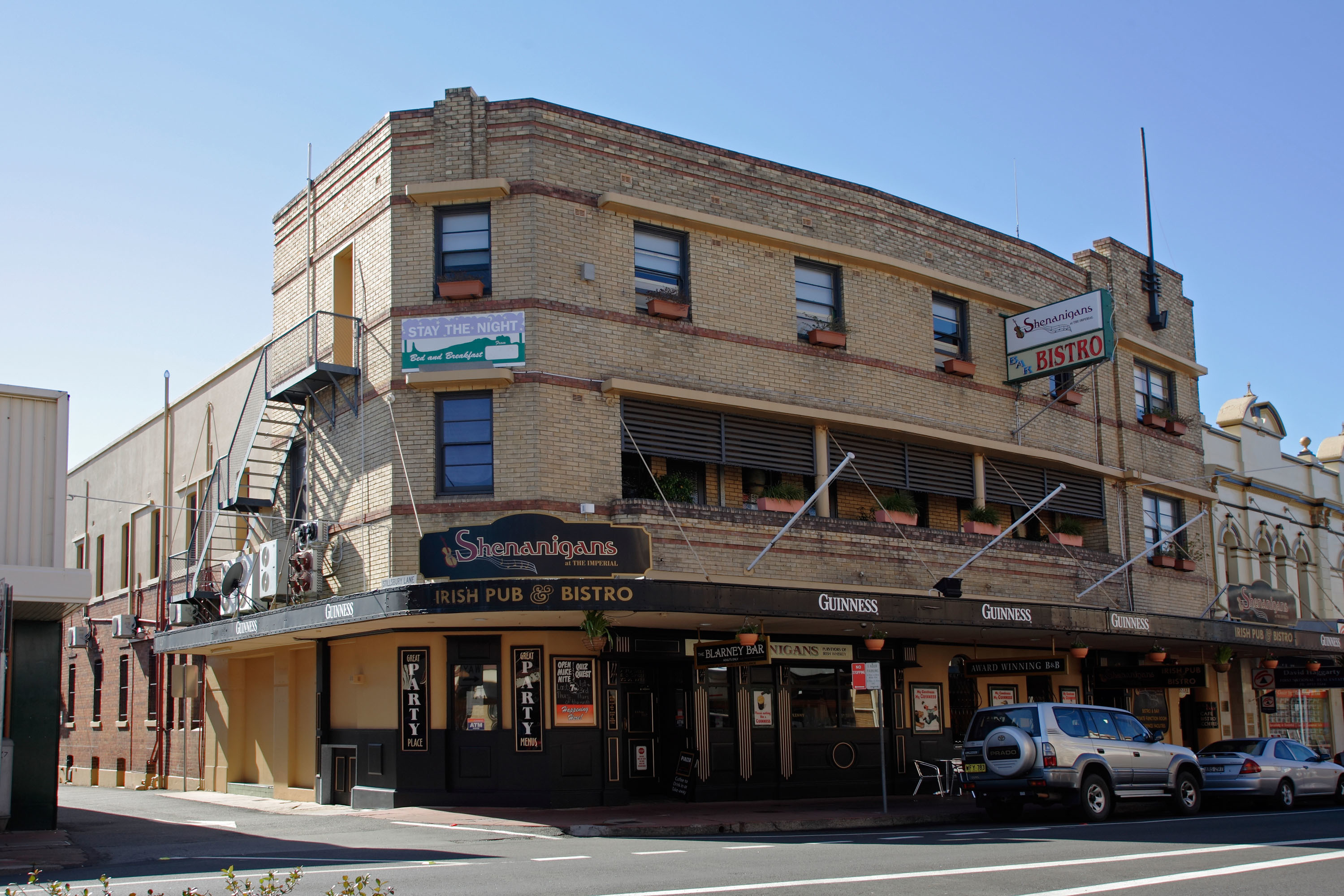 HOTEL AUCTION - Shenanigans at The Imperial, Maitland