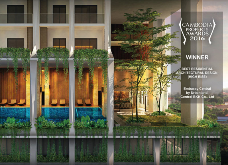 Embassy  Central , BKK 1, Phnom Penh | New Development for sale in Chamkarmon BKK 1