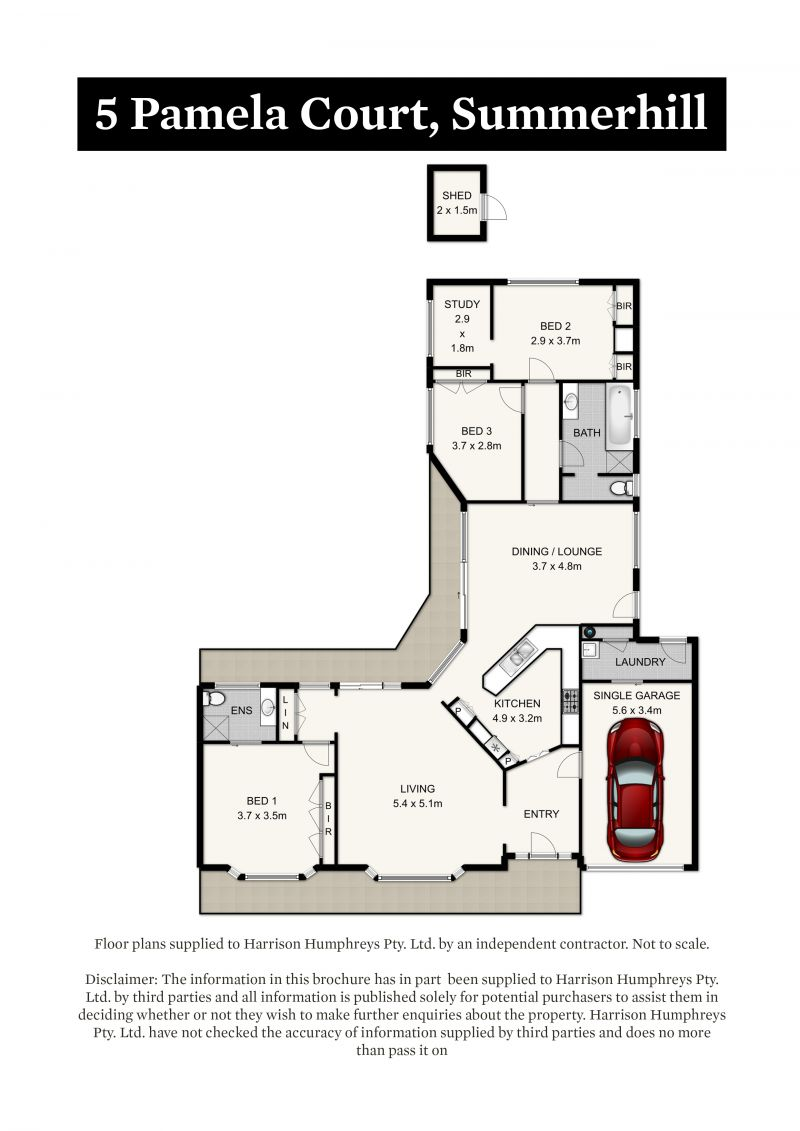 5 Pamela Court Floorplan