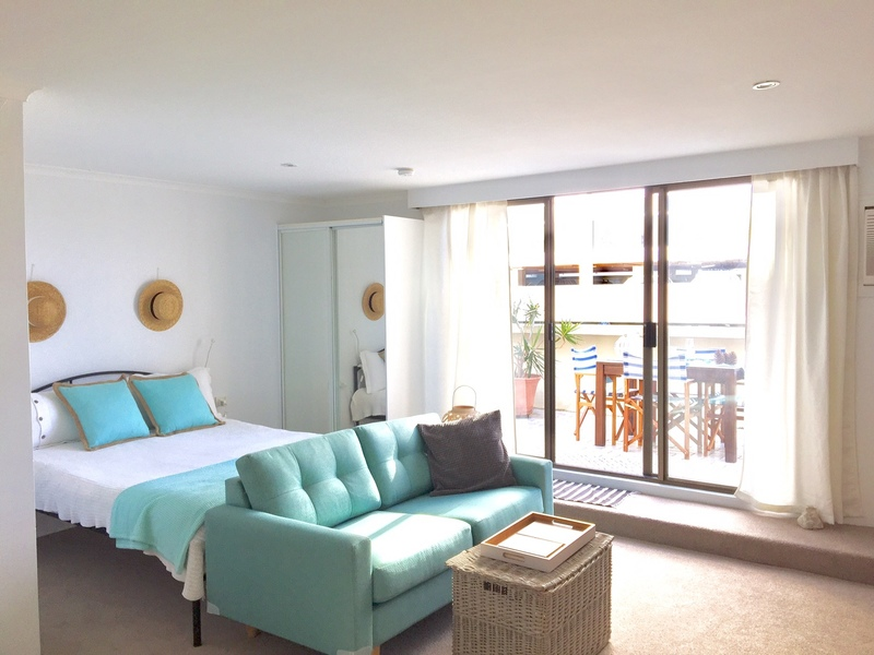 Oversize studio right in the heart of Manly