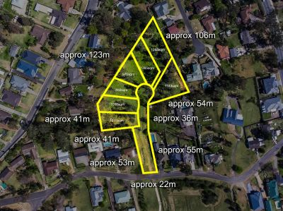 7 Large Blocks DA Approved Site – 2.5 Acres
