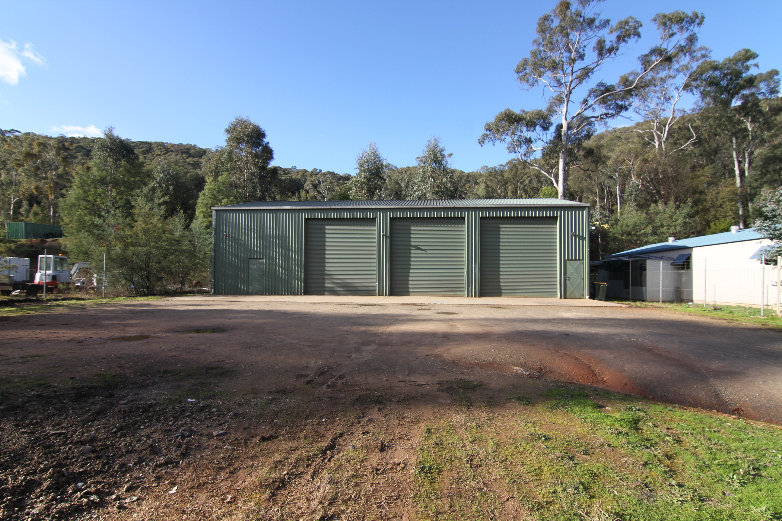 Light Industrial Shed with Tenant in Place