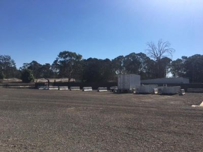 Hardstand parking and storage lease
