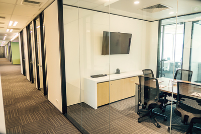MEETING ROOM 2, SERVICED OFFICES, LEVEL 1