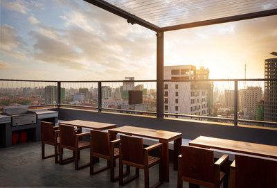 HABITAT  Condo, Tonle Bassac, Phnom Penh | Condo for rent in Chamkarmon Tonle Bassac img 16