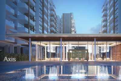 Axis  Residences, Teuk Thla, Phnom Penh   New Development for sale in Sen Sok Teuk Thla img 2