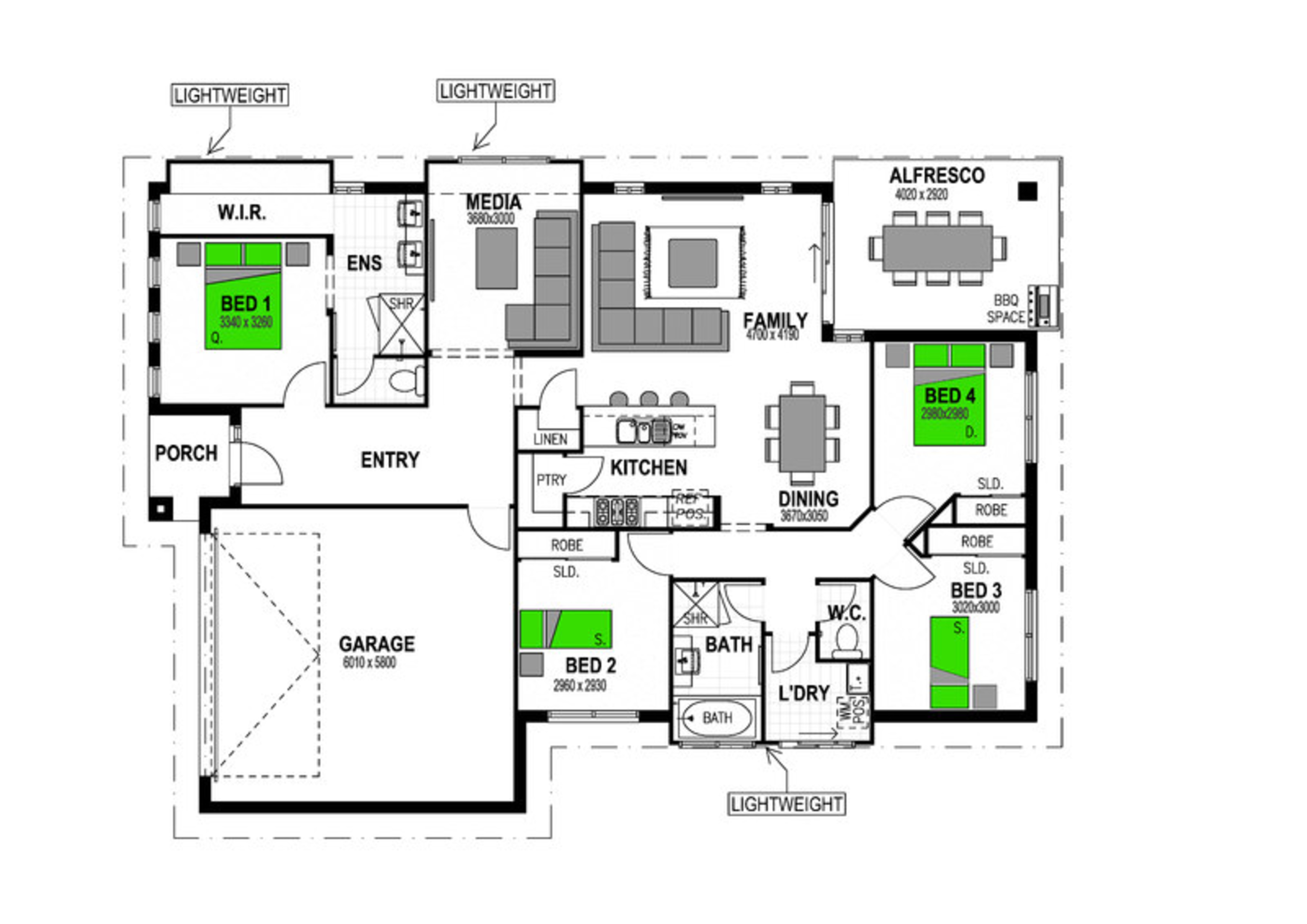 2219 WHISK WAY MOUNT DUNEED Floorplan