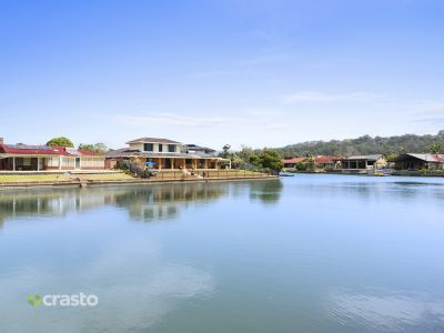 WIDE WATERFRONT IN PRIZED LOCATION