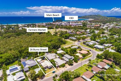 Central Byron Bay Location with Development Potential!