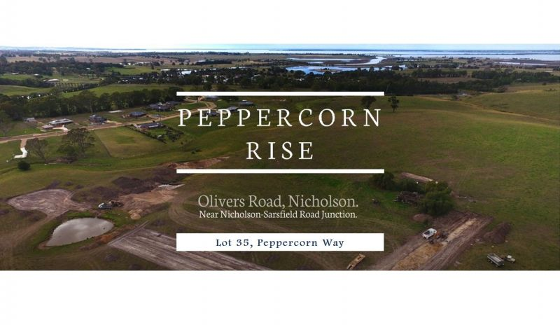 PEPPERCORN RISE - THE NEXT STAGE